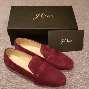 J. Crew Suede Penny Loafer